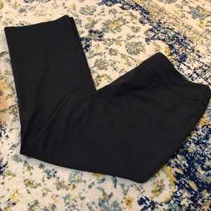 Ann Taylor Navy Patterned pants Sz16 great cond